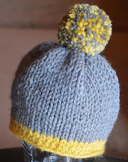 Knitting Beanie Pattern For Beginners : Ravelry: Beginner Knit Beanie pattern by Boomer Beanies