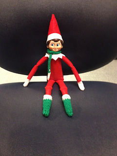 Free Knitting Patterns For Elf On The Shelf Clothes : Ravelry: BOOTS Elf on the Shelf pattern by Kristen McDonnell