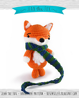 Fox Amigurumi Ravelry : Ravelry: Jean the amigurumi fox pattern by Ilaria Caliri ...