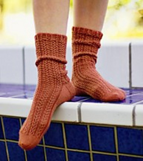 Interweave Knits Pattern Errata : Ravelry: Go With the Flow Socks pattern by Evelyn A. Clark