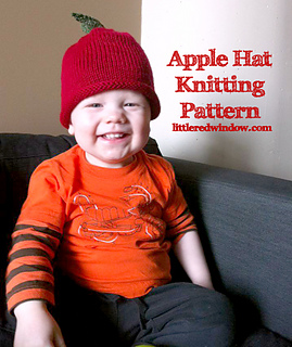 Ravelry: Adorable Apple Hat pattern by Cassandra May
