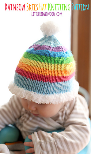 Rainbow_skies_hat_knitting_pattern_01b_littleredwindow_medium