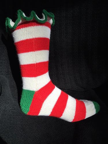 Julie\'s Christmas Sock PDF