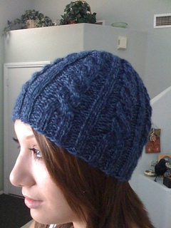 Ravelry Basic Cable Hat Pattern By Chantal Clay