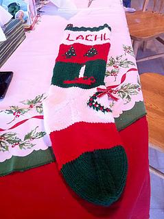 Ravelry: Vintage Bernat Stocking Pak Style Christmas ...