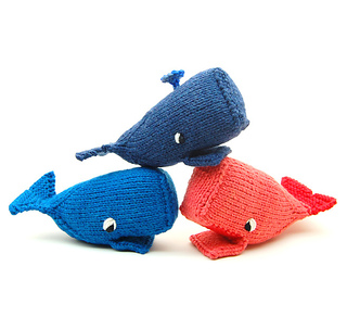 What Size Needle For Amigurumi : Ravelry: Whale Amigurumi Plush Toy pattern by cheezombie