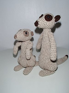 Ravelry: Meerkats pattern by Chiwaluv Amigurumi Critters