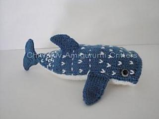 Whale Shark Amigurumi : Ravelry: Whale Shark pattern by Chiwaluv Amigurumi Critters