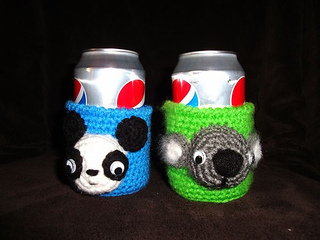 Chiwaluv Amigurumi Critters Blog : Ravelry: Critter Soda Can Cozy pattern by Chiwaluv ...