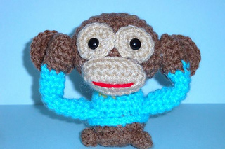 Chiwaluv Amigurumi Critters Blog : Ravelry: Wise Chimps pattern by Chiwaluv Amigurumi Critters