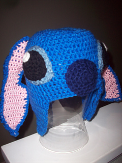 Ravelry Stitch From Lilo And Stitch Inspired Hat Pattern