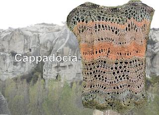 Ravelry Cappadocia Vest Pattern By Jane Thornley