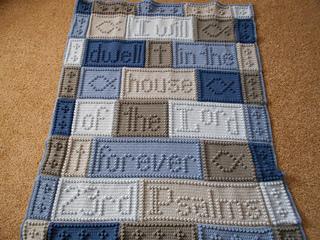 Ravelry 23rd Psalms Blanket Pattern By Jody Pyott