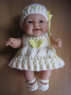 Knitting Patterns For 8 Berenguer Doll Clothes : Ravelry: 8