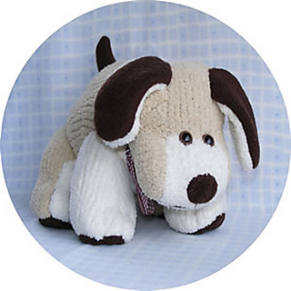 Douglas Dog Knitting Pattern : Ravelry: Douglas Dog pattern by Linnypin Designs