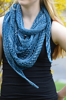 Ravelry: Pacific Lace Shawl pattern by Undeniable Glitter ...