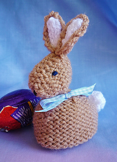 Ravelry: Babs & Bobby EASTER BUNNY Creme egg cover cosy pattern by Alison...