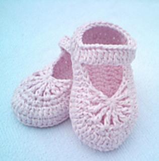Cotton Crochet Baby Shoes Pattern : Ravelry: YARA simple baby shoes pattern by Crochet- atelier