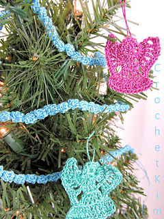 Ravelry Mini Christmas Tree Garland Pattern By Kim Guzman