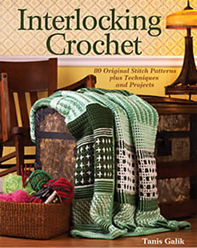 Book Cover Crochet Quilt ~ Ravelry squares crosses pattern by tanis galik