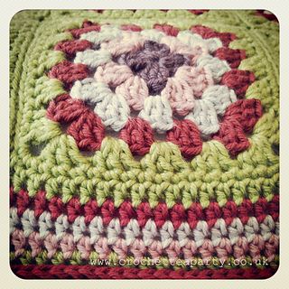 Ravelry Granny Square Cushion Cover Pattern By Crochet