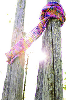 Yarn Over Knitting Patterns : Ravelry: Knit Yarn-over Scarf pattern by Maie Landra