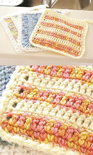 Pierrot Yarn Free Crochet Patterns : Ravelry: 27-28-39 Tawashi pattern by Pierrot (Gosyo Co., Ltd)