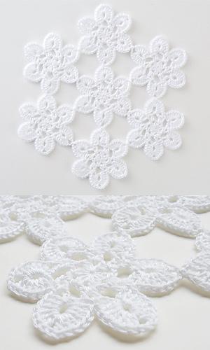 Pierrot Yarn Free Crochet Patterns : Ravelry: 28-50 Soft Lace Motif Doily pattern by Pierrot ...