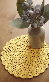 Pierrot Yarn Free Crochet Patterns : Ravelry: amikomo3-13 Lace Doily pattern by Pierrot (Gosyo ...