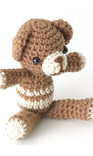 Pierrot Yarn Free Crochet Patterns : Ravelry: 27-175K Little Amigurumi Bear pattern by Pierrot ...