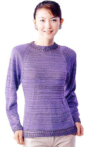 Ravelry: 20-14 Raglan Sweater pattern by Pierrot (Gosyo Co ...