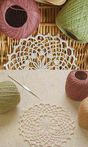 Ravelry: Cotton Lace Doily pattern by Pierrot (Gosyo Co., Ltd)