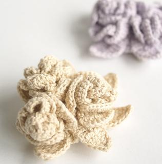Pierrot Yarn Free Crochet Patterns : Ravelry: 210-50 Rose Corsage pattern by Pierrot (Gosyo Co ...