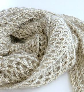 Pierrot Yarn Free Crochet Patterns : Ravelry: 641muf Elegant Muffler pattern by Pierrot (Gosyo ...