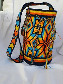 Ravelry Mochila Bag Pattern By Marion Verloop