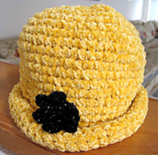 Chenille_glam_roll_brim_hat_on_counter_small2