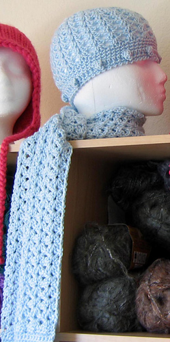 Blue_lace_hat_scarf_on_shelf_1_medium