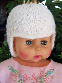 Lacy_baby_hat_tlc_amore_white_front_view_small2