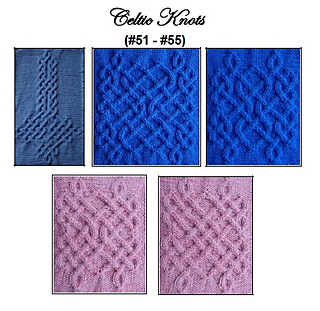 Celtic Knot Knitting Pattern Book : Ravelry: Celtic Knots for Knitting vol. III pattern by Devorgillas Knitt...