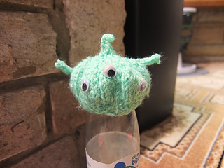 Knitting Pattern Toy Story Characters : Ravelry: Big Knit Toy Story Alien. pattern by Dodgethecat