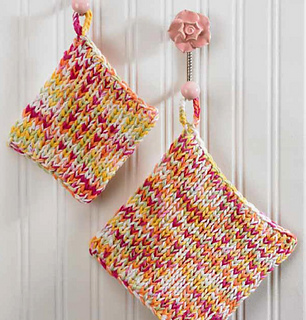 Boye Long Loom Knitting Patterns : Ravelry: Handy Hot Pads pattern by Brenda Myers