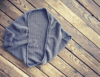 Free Crochet Cocoon Sweater Pattern : Ravelry: Cozy cocoon cardigan pattern by domestic bliss ...