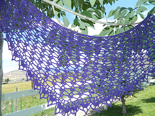 Summer Sprigs Lace Shawl Free Crochet Pattern : Ravelry: Summer Sprigs Lace Scarf pattern by Esther Chandler