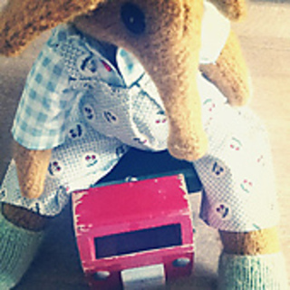 Elephant Pants Knitting Pattern : Ravelry: Knitted Bear Friend called Alfie a knitting pattern to make this ele...