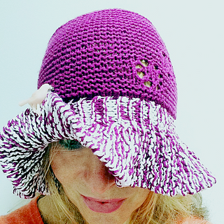 Ravelry: Floppy knitted hat pattern by Claire Garland