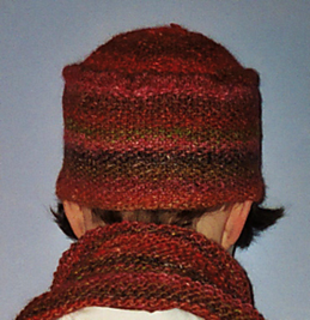 Ravelry: Linen Stitch Pillbox Hat with Garter Scarf pattern by Jessica Fenlon...