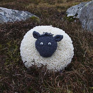 Ravelry: Sheep Cushion pattern by Sandra Manson