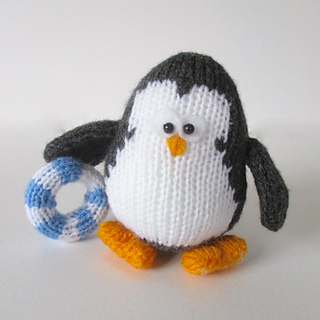 Ravelry: Hopkins the Penguin pattern by Amanda Berry