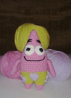 Patrick Star Amigurumi Pattern : Ravelry: Patrick Star amigurumi doll pattern by Cecilia ...