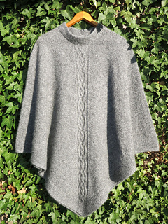 Knitting Patterns For Young Knitters : Ravelry: Liliane Poncho pattern by Liliane Young